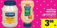 Hellmann's Mayonnaise - 710-890 mL Or Specialty Sauce - 325 mL