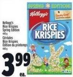 Kellogg's Rice Krispies Spring Edition
