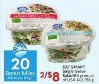 Eat Smart Single Serve Salad Kit Product of USA 142-156 g Portions