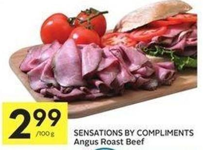 Sensations By Compliments Angus Roast Beef