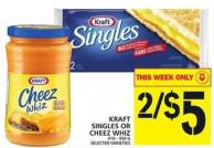 Kraft Singles Or Cheez Whiz