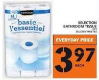 Selection Bathroom Tissue