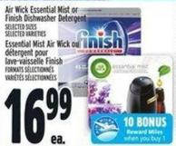 Air Wick Essential Mist Or Finish Dishwasher Detergent