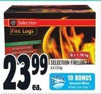 Selection Firelog