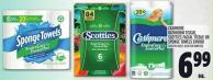 Cashmere Bathroom Tissue - Scotties Facial Tissue Or Sponge Towels Enviro