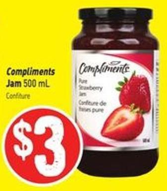 Compliments Jam 500 mL