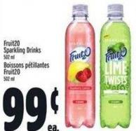 Fruit20 Sparkling Drinks 502 ml