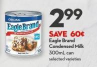 Eagle Brand Condensed Milk 300ml Can