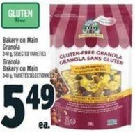 Bakery On Main Granola - 340 G