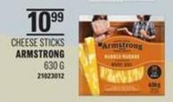 Armstrong Cheese Sticks - 630 G