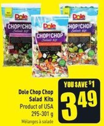 Dole Chop Chop Salad Kits Product of USA 295-301 g