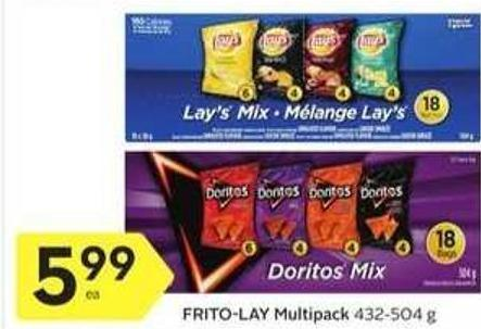 Frito-lay Multipack 432-504 g
