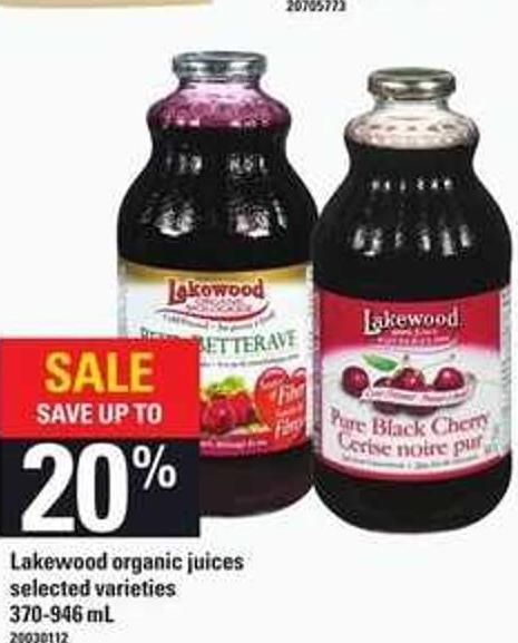 Lakewood Organic Juices - 370-946 mL