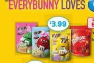 M&M Spring Pastels Or Speck-tacular Eggs - 200 g