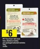 PC Free From Deli Meat Ham - Chicken Or Turkey - 175 g