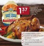 Granny's Seasoned Turkey Frozen Grade A Under 7 Kg