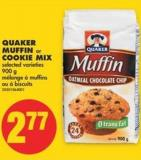 Quaker Muffin or Cookie Mix - 900 g