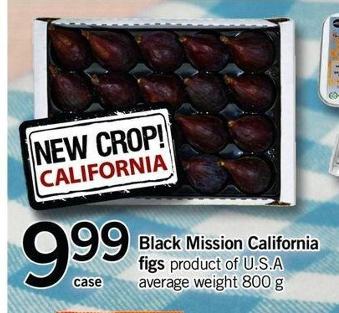 Black Mission California Figs - 800 G