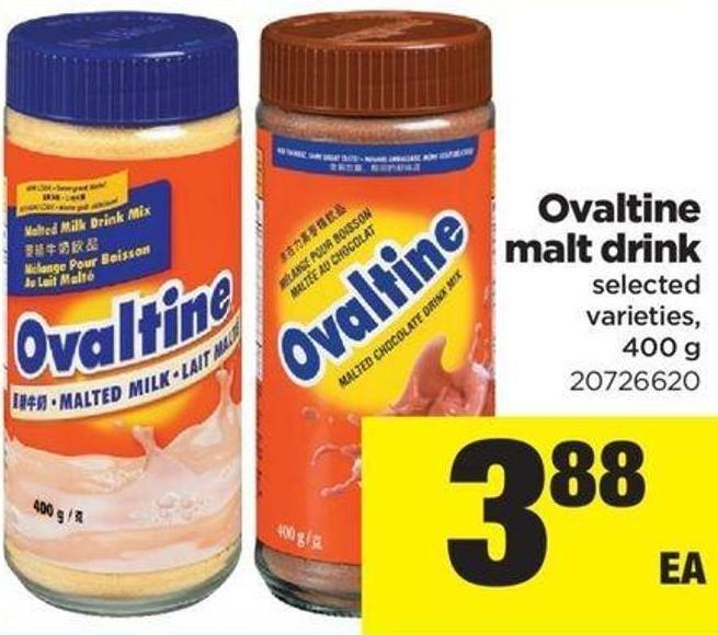 Ovaltine Malt Drink - 400 G