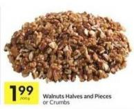 Walnuts Halves and Pieces