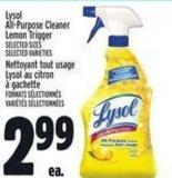 Lysol All-purpose Cleaner Lemon Trigger