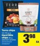 Terra Chips - 141-170 G Or Hard Bite Chips - 80 G