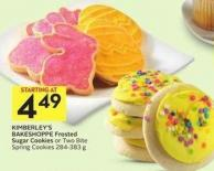 Kimberley's Bakeshoppe Frosted Sugar Cookies or Two Bite Spring Cookies 284-383 g