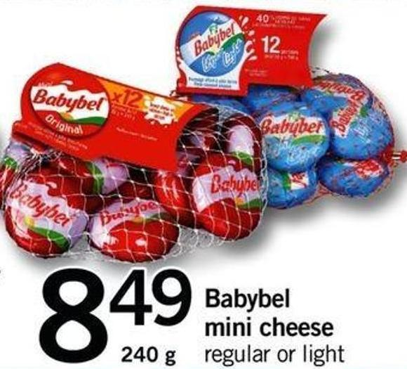 Babybel Mini Cheese