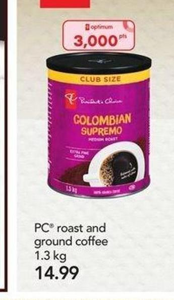 PC Roast And Ground Coffee - 1.3 Kg