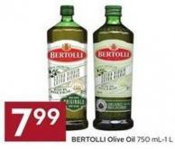 Bertolli Olive Oil 750 Ml-1 L