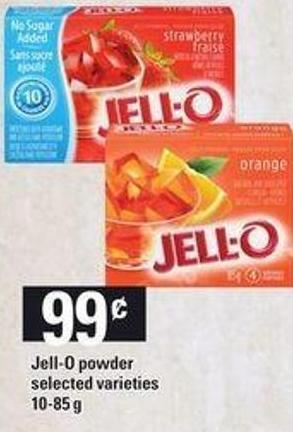 Jell-o Powder - 10-85 G