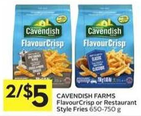 Cavendish Farms Flavourcrisp or Restaurant Style Fries
