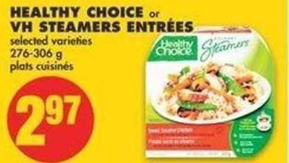 Healthy Choice Or VH Steamers Entrées - 276-306 G