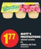 Mott's Fruitsations - 6's