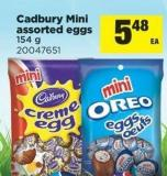 Cadbury Mini Assorted Eggs - 154 G