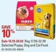 Selected Puppy - Dog and Cat Food