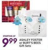 Ashley Foster or Burt's Bees Gift Sets