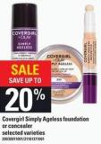 Covergirl Simply Ageless Foundation Or Concealer