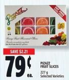 Pizazz Fruit Slices 227 g