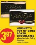 Hershey's Pot Of Gold Boxed Chocolates - 247 g