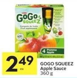 Gogo Squeez Apple Sauce