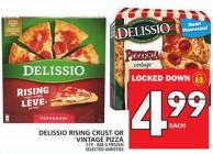 Delissio Rising Crust Or Vintage Pizza