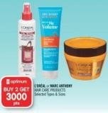 L'oréal or Marc Anthony Hair Care Products