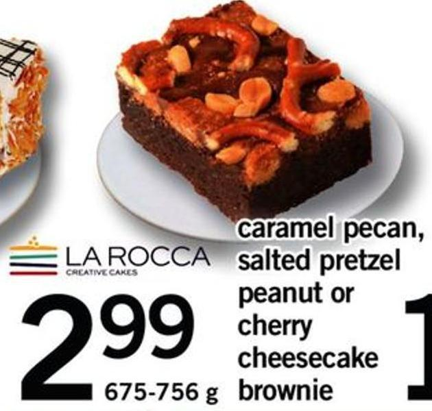 Caramel Pecan Salted Pretzel Peanut Or Cherry Cheesecake Brownie - 675-756 G