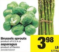 Brussels Sprouts Or Asparagus