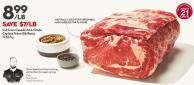 Cut From Canada Aaa Grade Capless Prime Rib Roast