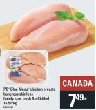 PC Blue Menu Chicken Breasts Boneless Skinless