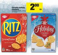 Christie Holiday Crackers - 200 g