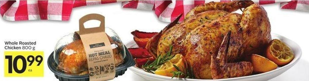 Whole Roasted Chicken 800 g