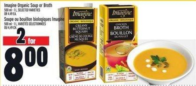 Magine Organic Soup Or Broth